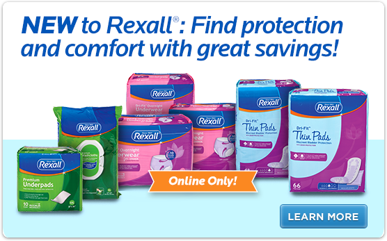 NEW to Rexall®: Find protection and comfort with great savings!