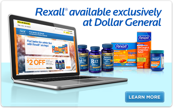 Rexall® Available Exclusively at Dollar General
