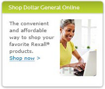 Shop Dollar General Online. The convenient and affordable way to shop your favorite Rexall products. Shop now